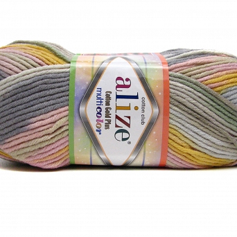 Cotton Gold Multicolor 52204