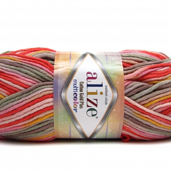 Cotton Gold Multicolor 52198