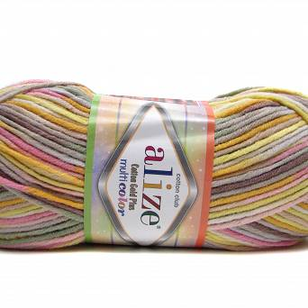 Cotton Gold Multicolor 52175