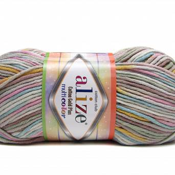 Cotton Gold Multicolor 52178
